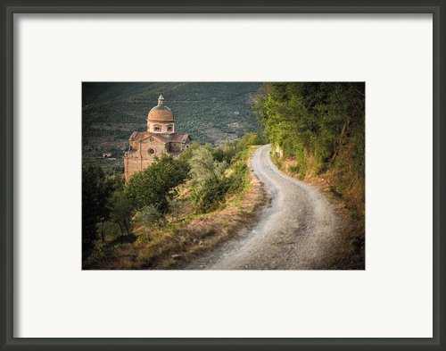 Santa Maria Nuova Framed Print By Clint Brewer