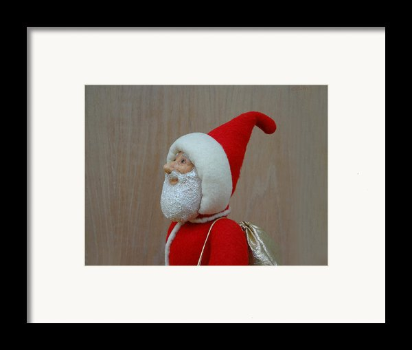 Santa Sr. - Keeping The Faith Framed Print By David Wiles