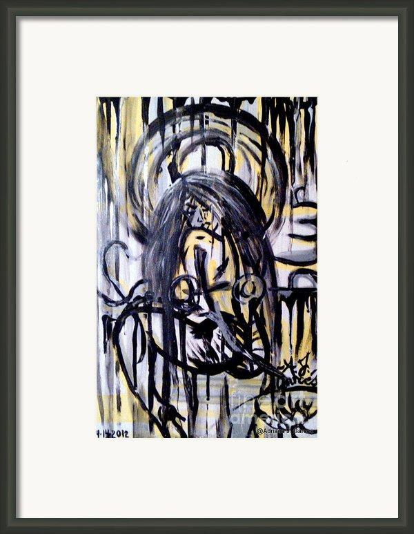 Sarge-7 On Fotoblur Framed Print By Adriana Garces