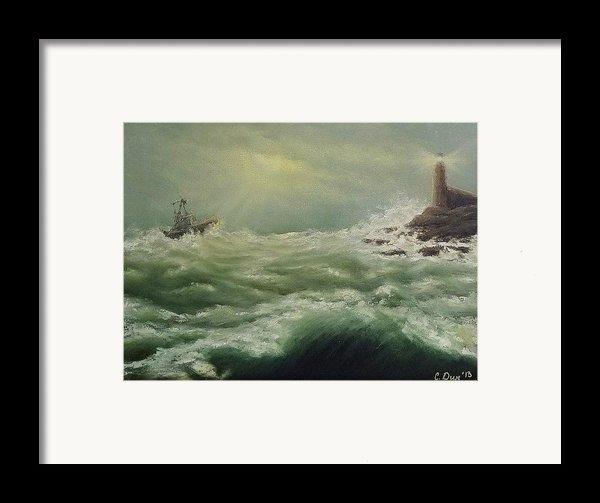 Saving Light Framed Print By Svetla Dimitrova