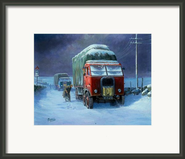 Scammell R8 Framed Print By Mike  Jeffries