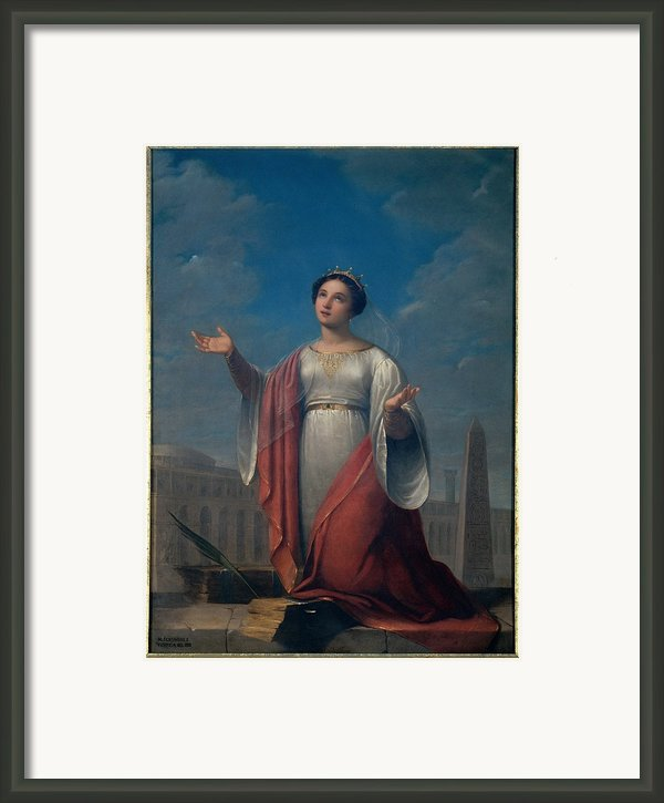 Schiavoni Natale, St Catherine, 1828 Framed Print By Everett