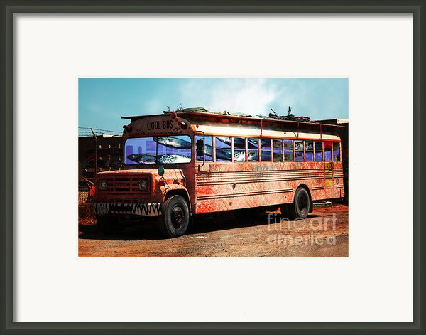 School Bus 5d24927 Framed Print By Wingsdomain Art And Photography