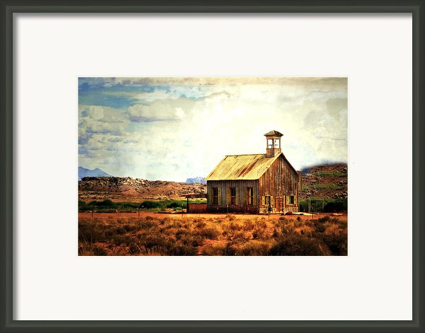 Schoolhouse 1 Framed Print By Marty Koch