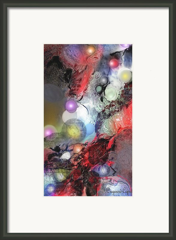 Sci-fi Framed Print By Francoise Dugourd-caput
