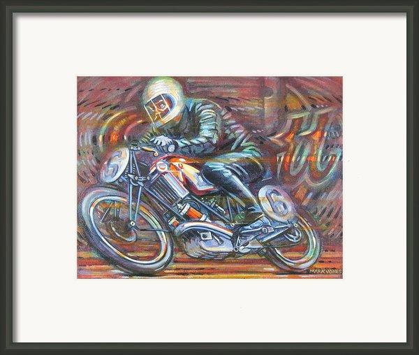 Scott 2 Framed Print By Mark Howard Jones