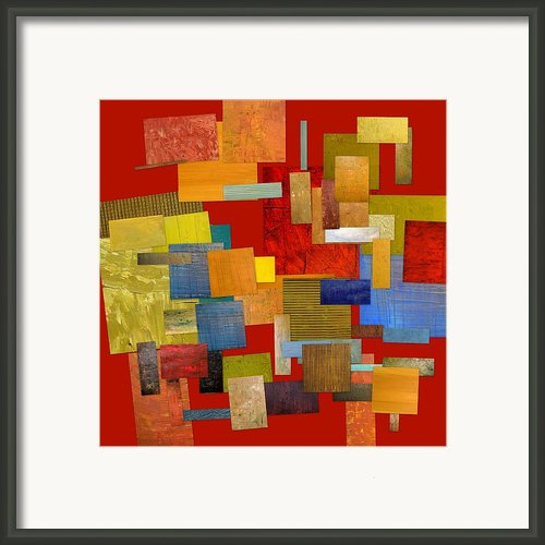 Scrambled Eggs L Framed Print By Michelle Calkins