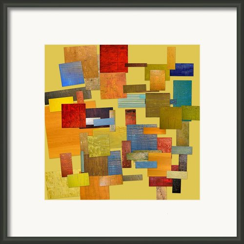 Scrambled Eggs Lll Framed Print By Michelle Calkins