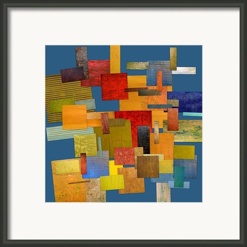 Scrambled Eggs Lv Framed Print By Michelle Calkins