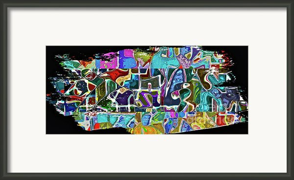 Scrap Of Paper Framed Print By Gwyn Newcombe