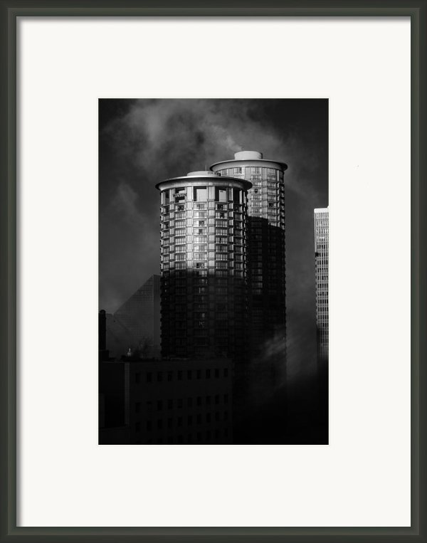 Seattle Towers Framed Print By Paul Bartoszek