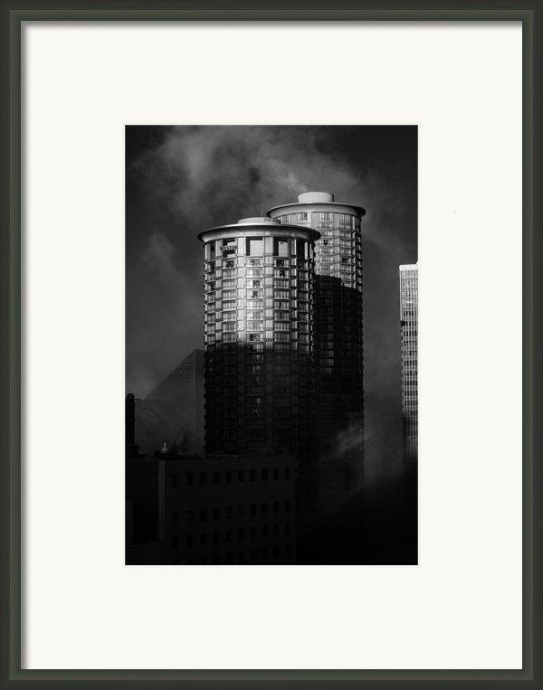 Seattle Towers Framed Print By Paul Bartoszek