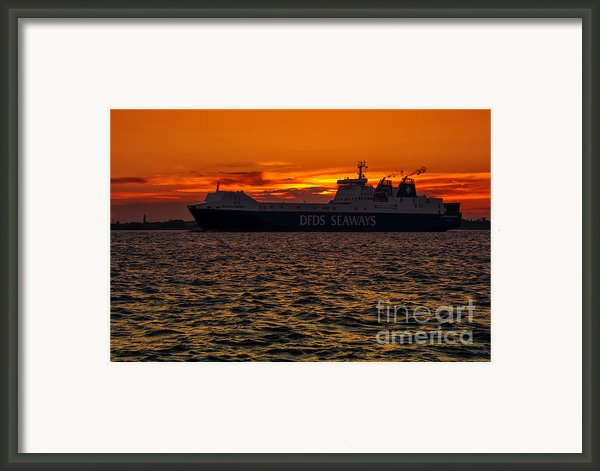 Seaways Framed Print By Svetlana Sewell