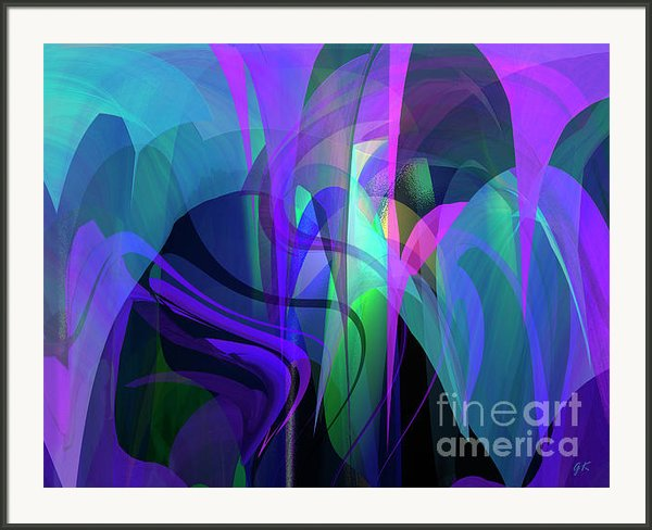 Secrecy Framed Print By Gerlinde Keating - Keating Associates Inc