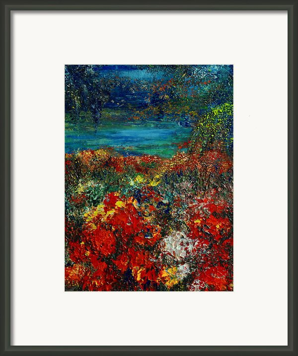 Secret Garden Framed Print By Teresa Wegrzyn