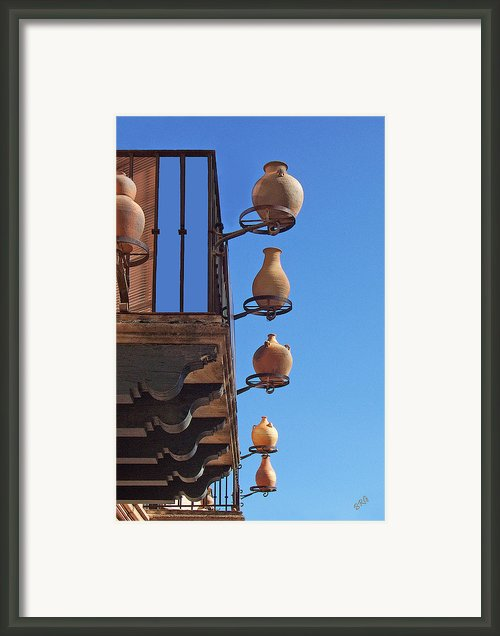 Sedona Jugs Framed Print By Ben And Raisa Gertsberg