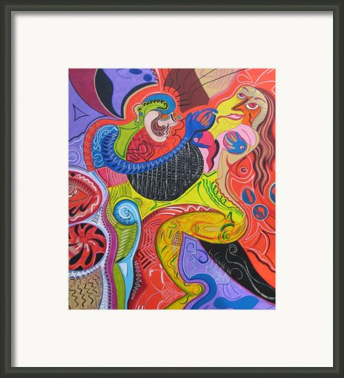Seduction  Framed Print By Michael Kulick