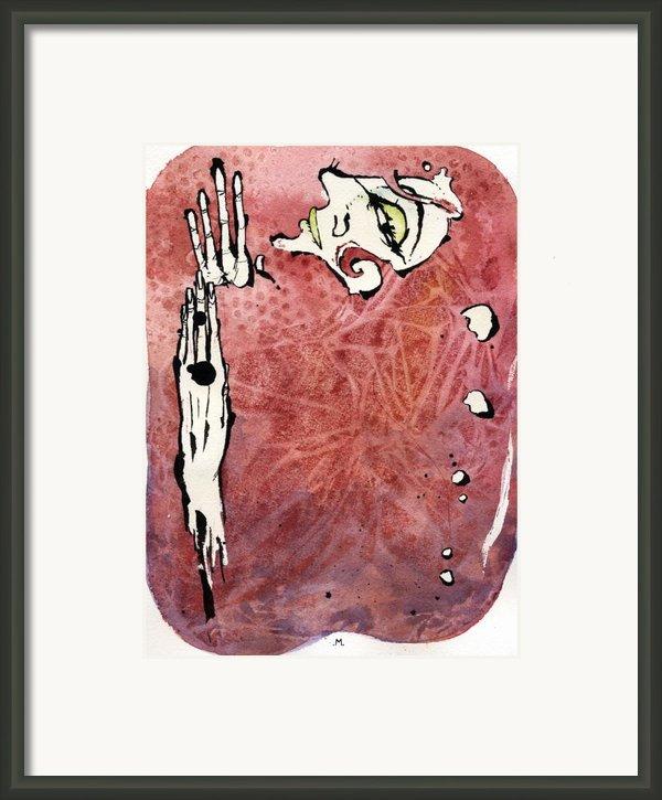 Seduction Seven Framed Print By Mark M  Mellon