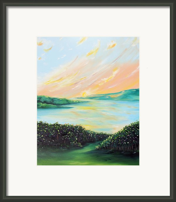 Seeded Spirit Framed Print By Meaghan Troup