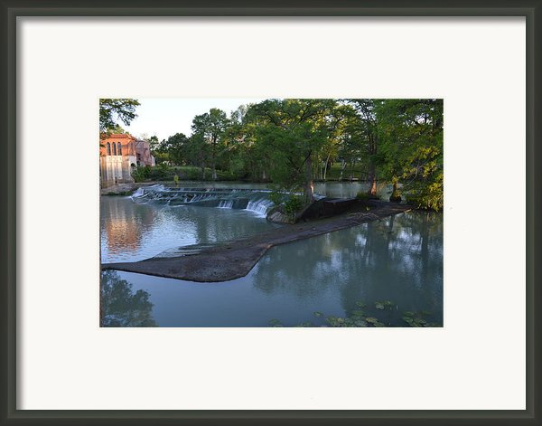 Seguin Tx 01 Framed Print By Shawn Marlow