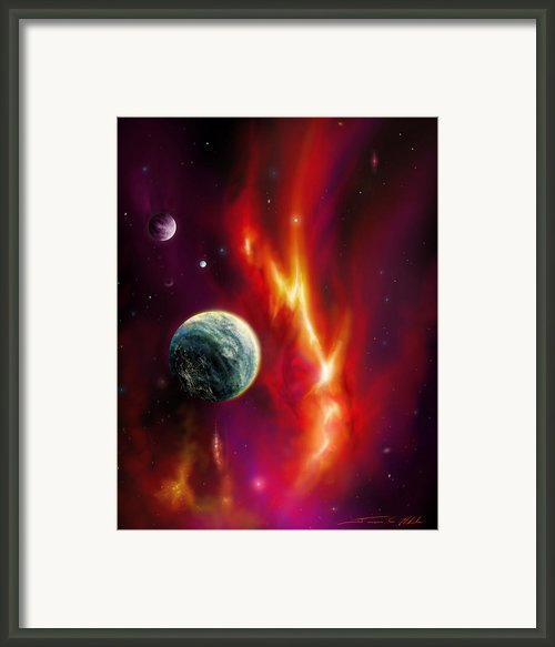 Seleamov Framed Print By James Christopher Hill