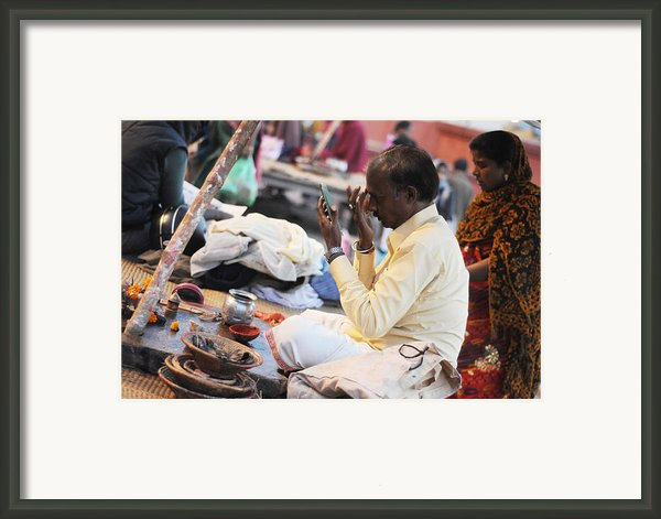 Self Decoration Framed Print By Money Sharma