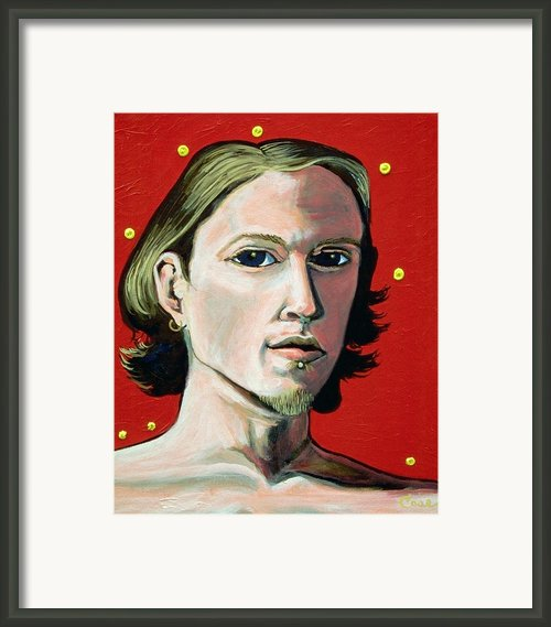 Self Portrait 1995 Framed Print By Feile Case
