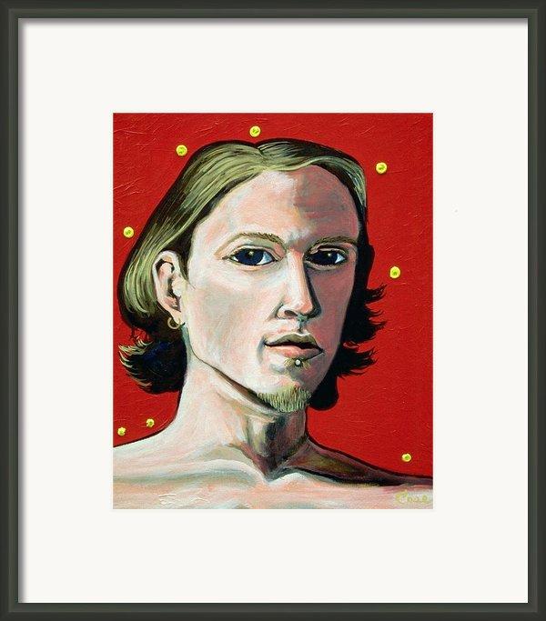 Self Portrait 1995 Framed Print By Feile Case