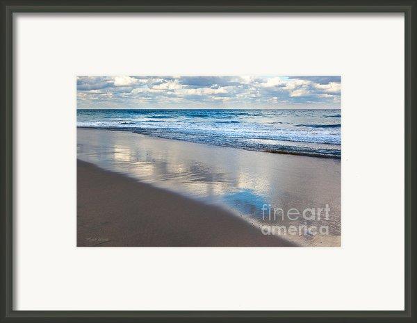 Self Reflection Framed Print By Michelle Wiarda