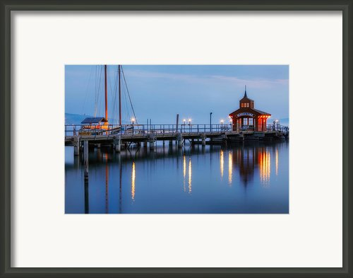 Seneca Lake Framed Print By Bill  Wakeley