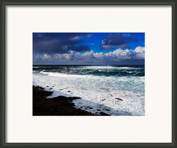 Sennen Cove In Cornwall Framed Print By Louise Heusinkveld