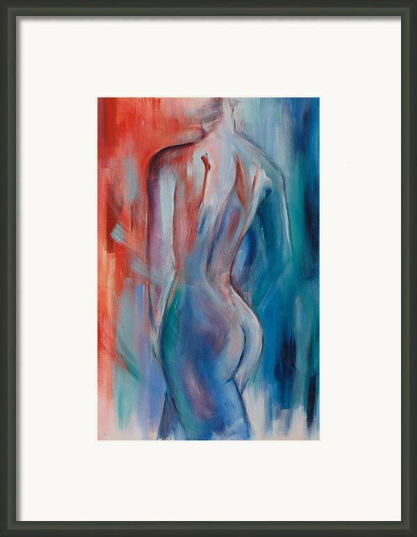 Sensuelle Framed Print By Elise Palmigiani