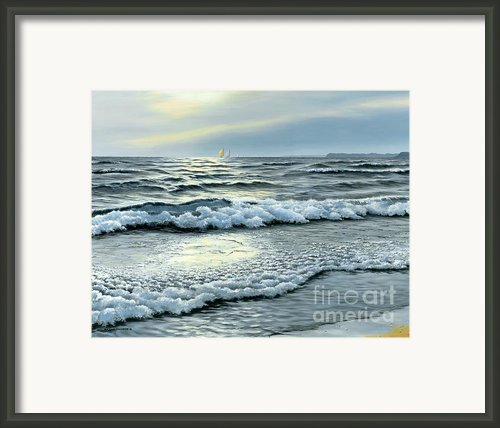 September Winds Framed Print By Michael Swanson