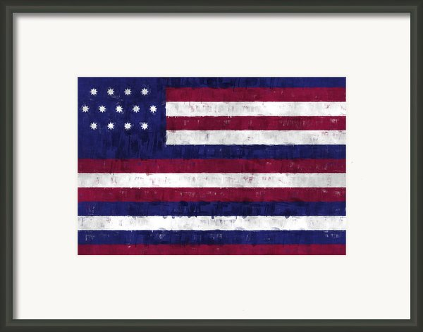 Serapis Flag Framed Print By World Art Prints And Designs