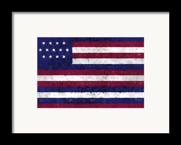 Serapis Flag Framed Print By World Art Prints And Designs
