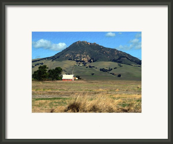 Serenity Under Bishops Peak Framed Print By Kurt Van Wagner