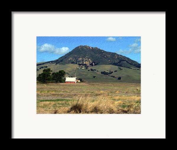 Serenity Under Bishops Peak Framed Print By Kurt Van Wagner