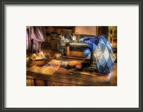 Sewing Machine  - Sewing Machine Iii Framed Print By Mike Savad