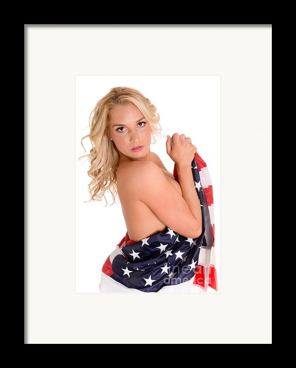 Sexy Usa Framed Print By Jt Photodesign