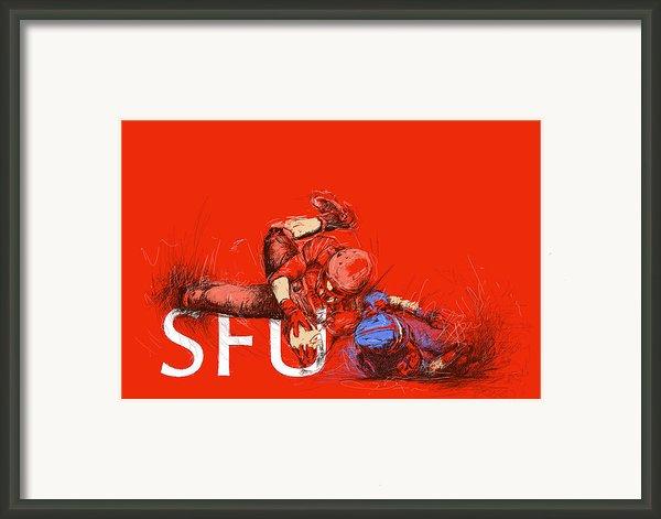 Sfu Art Framed Print By Catf