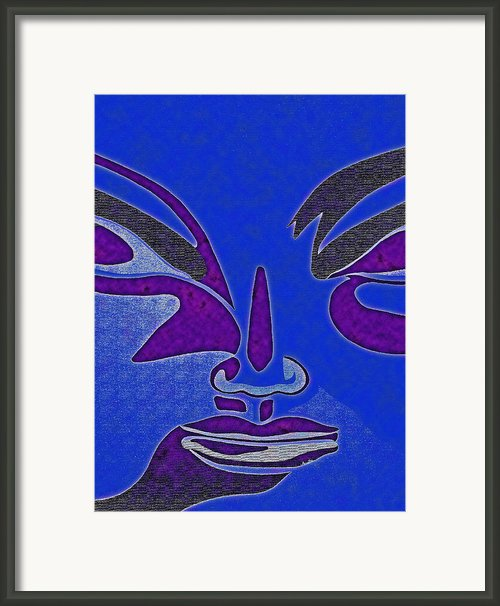Shades Of The Soul 4 Framed Print By Laurie Carvalho
