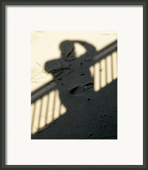 Shadow Framed Print By Bob Slitzan