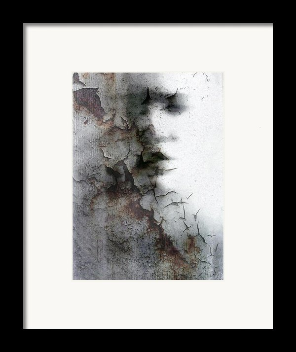 Shadow On A Wall Framed Print By Gun Legler