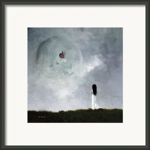 She Releases You By Shawna Erback Framed Print By Shawna Erback