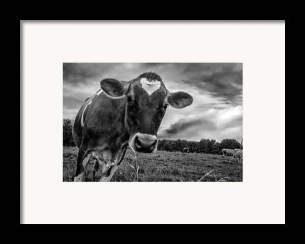 She Wears Her Heart For All To See Framed Print By Bob Orsillo