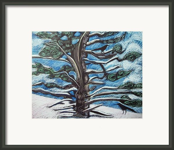 Shelter Framed Print By Grace Keown