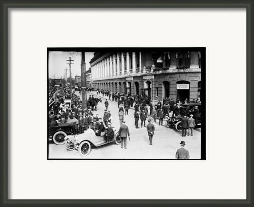 Shibe Park 1914 Framed Print By Bill Cannon