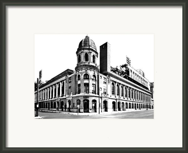 Shibe Park Framed Print By Benjamin Yeager