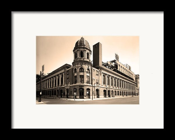 Shibe Park  Framed Print By Bill Cannon