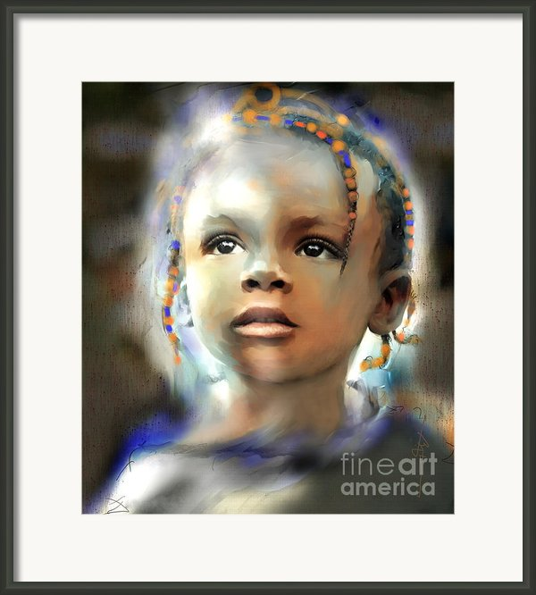 Shine On Me Framed Print By Bob Salo